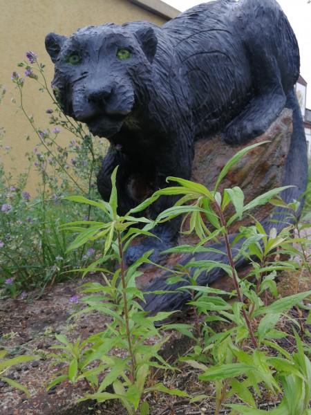 Gartenfigur Panther